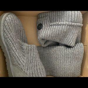 🍁Ugg Sweater Classic Grey Boot🍁